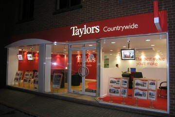 Shop Fronts - Wired Displays - Cable Displays - Digital Office Systems UK
