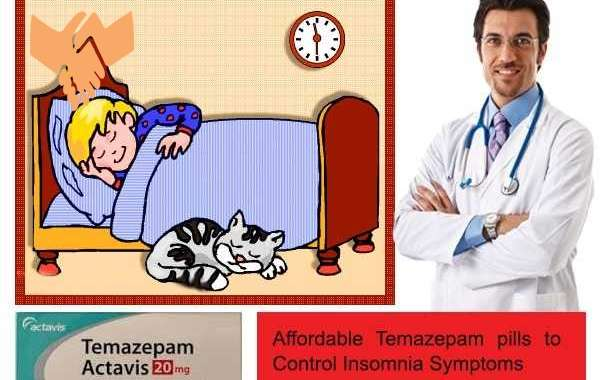 Treat Stress Related Sleep Problems With Buy Temazepam 20 MG Tablets UK Online Sleeping Pills